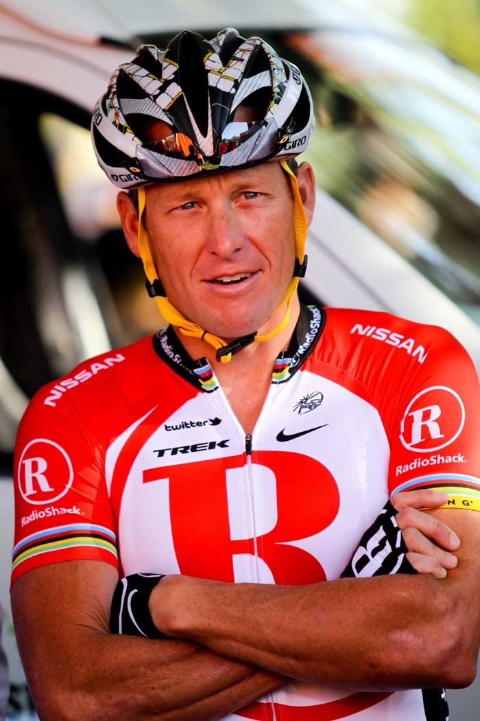 <b>Lance Armstrong:</b> The American cyclist was diagnosed with Stage 3 testicular cancer in 1996, but he recovered to go on to win the sport's most prestigious race, the Tour de France, an unprecedented seven times.<br><br>Yuvraj is currently reading his autobiography to draw inspiration. Incidentally, he is also being treated by the same doctor.