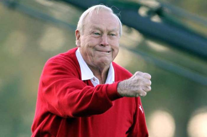 <b>Arnold Palmer:</b> This Golf great was back on the course eight weeks after undergoing surgery for prostate cancer in 1997.