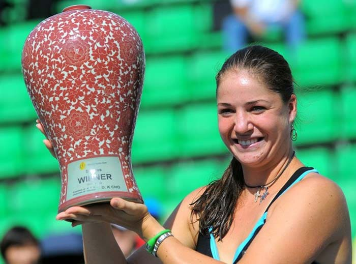 <b>Alisa Kleybanova:</b>Last year in July, this Russian tennis player announced that she was fighting Hodgkin's lymphoma, a type of lymphoma, which is a cancer originating from white blood cells called lymphocytes. Kleybanova, who had made it to the fourth round of Wimbledon and the Australian Open in 2008 and 2009 respectively, won two WTA tournaments in Malaysia and South Korea in 2011, reaching a career-high ranking of 20 before her illness. The Moscow native said she hoped to return to tennis after her treatment. This may not exactly be a success story so far but we hope it turns out to be one.