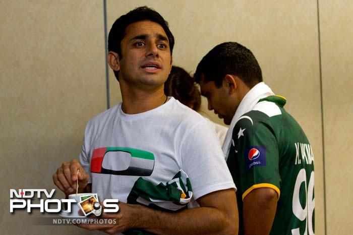 Ajmal has that, what we think, look that he surely must be giving to all who are asking him for his views on the ICC Awards.