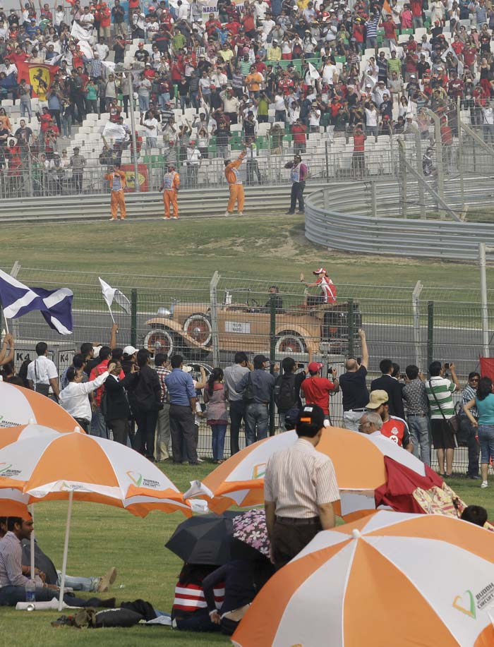 Overall, it was a day that will be remembered by the Indian spectators as much as it would be by the F1 drivers.