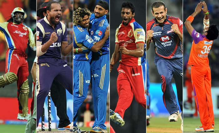 Yes, IPL seems to have players celebrating in their own unique style. And why not we say. If shots can be unique, so can the emotions and the way these cricketers express it. An 'in-depth' look. (AFP Photos)