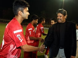 TUCC: When stars descended to greet young cricketers