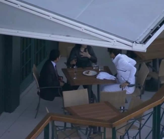 Switzerland's Federer dined with Sachin and his wife Anjali. (Courtesy: Star Sports)