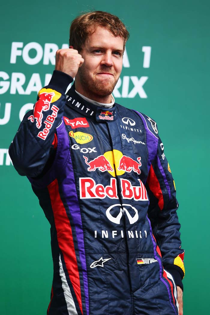 Red Bull had top honours as Sebastian Vettel won the Canadian Grand Prix on Sunday while Fernando Alonso came second with Lewis Hamilton finished 3rd. (All Images AFP)