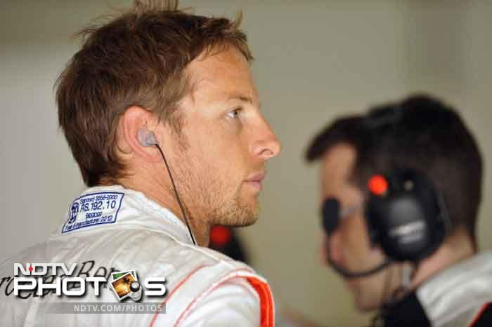 Jenson Button of McLaren fared better than his partner Lewis Hamilton once the final standings were made official. He will start from the fifth position.