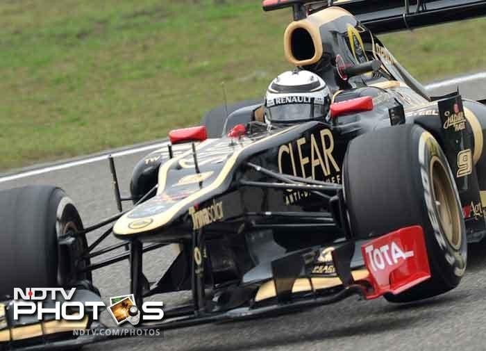 Team Lotus had a decent outing as Kimi Raikkonen finished fourth almost making it to a top three finish, before being thwarted by Sauber's Kobayashi.