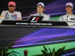 Chinese Grand Prix: Qualifiying Round