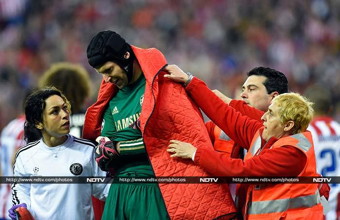 Petr Cech's season is over, don't ask me technically but his season is over: Chelsea manager Jose Mourinho said.