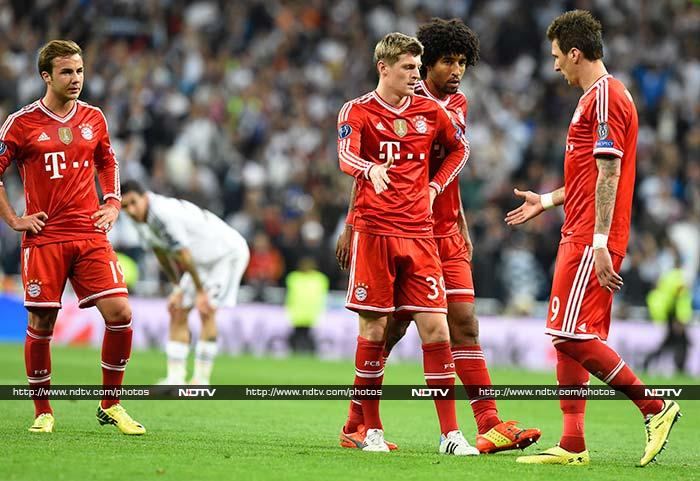 Bayern had the overwhelming majority of possession but failed to convert it into many sights of goal as Iker Casillas' save from Mario Goetze five minutes from time was the only significant stop the Spanish captain was forced into all evening.