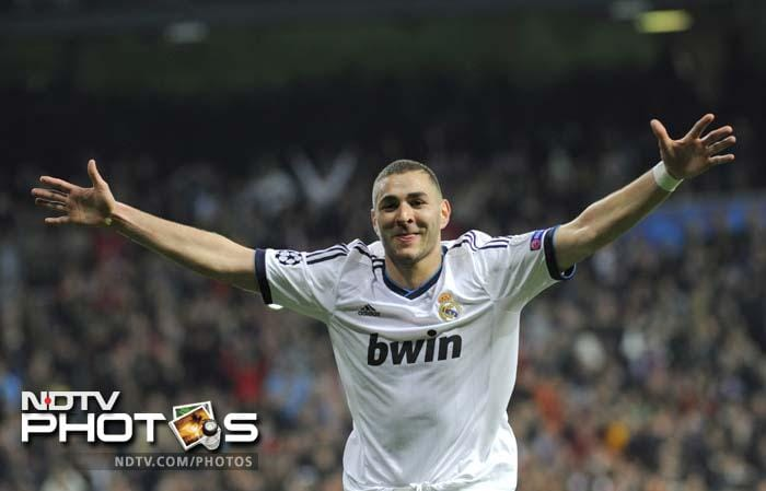 Karim Benzema silenced his critics with a well taken effort at the half-hour mark.