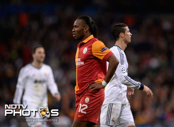 It was a night of contrasting fortunes for Ronaldo and Didier Drogba, with the Ivory Coast striker unable to influence the game.