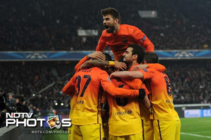 Barcelona thought they had snatched victory right at the death, when Xavi slotted home from the penalty spot, after Alexis Sanchez was brought down in the box.