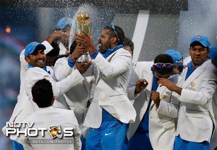 Such was the frenzy after winning the Champions Trophy crown that the players partied all night with champagne flowing as freely as moves from Gangnam style dance number.