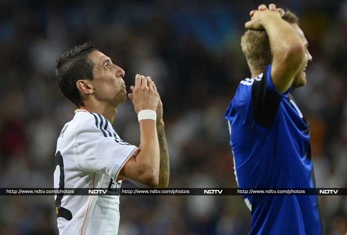 Cristiano Ronaldo and Angel Di Maria scored two goals each for Real Madrid in a 4-0 rout of Copenhagen.