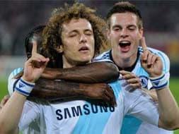 Photo : UEFA Europa league: Luiz rescues Chelsea against Basel, Fenerbahce win