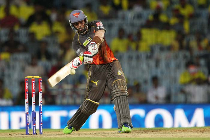 Ashish Reddy though combined well with Dhawan in the end to take his side to a respectable. (BCCI image)