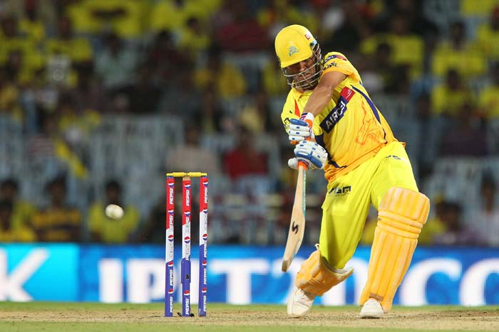 It was then that MS Dhoni took it upon himself to carry his team forward and finished the match with two balls to spare. (BCCI image)