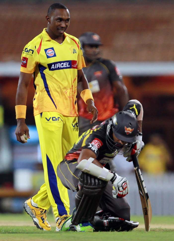 Dhawan had to retire in the middle when he was hit on his groins but he came back to lash out and rob over 50 runs off the final four overs. (BCCI image)
