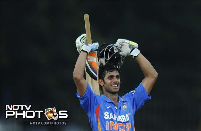 The Bengal batsman took 125 deliveries and hit 10 boundaries and a six in his innings.