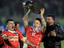 Photo : Chile Stun Argentina in Penalties to Win Copa America Title