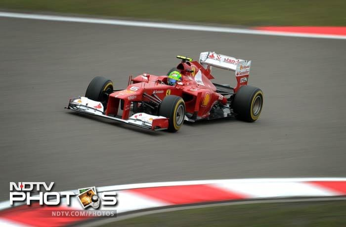 No such joy for the Ferrari team as Fernando Alonso finished 9th while teammate Felipe Massa was a disappointing 13th.