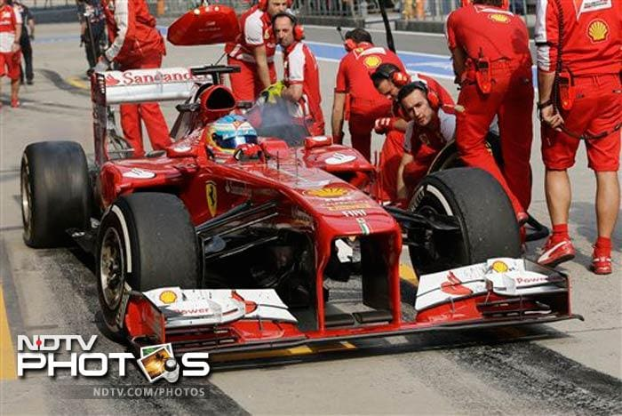 "Massa's teammate Fernando Alonso, who enjoys driving at Shanghai circuit, came third. He feels, ""Tyres will play a key role in this Grand Prix."""