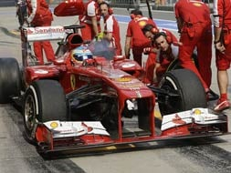 Chinese Grand Prix: Felipe Massa quickest in 2nd practice