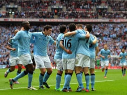 Photo : FA Cup: Aguero, Nasri help Manchester City sink Chelsea