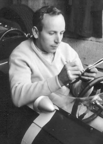 1964 (John Surtees vs Jim Clark vs Graham Hill)<br><br> This had not two, but three drivers fighting for the coveted trophy. Defending champion Jim Clark, 1962 winner Graham Hill and Ferrari driver John Surtees (in pic) - all 3 British - had a shot at the title, going into the final race in Mexico. While Hill and Surtees had triumphed in 2 races each, Clark had emerged victorious in 3, leaving the trio with a realistic chance.<br><br> However, Hill's collision with Ferrari's Lorenzo Bandini midway ended his hope, leaving Surtees and Clark to battle it out. And just when it looked like Clark was on his way to successfully defend his title, an oil leak fizzled out his charge, forcing him to retire on the last lap.<br><br> Under orders from Ferrari, Bandini allowed his team-mate Surtees through into the second place, handing him the title by just a point over Hill. Although Hill had scored a total of 41 points, a point more than Surtees, it didn't count as only the top 6 results of the 10 races were taken into account for the championship. Meanwhile, if the oil leak had not halted Clark, the trophy would have been his.