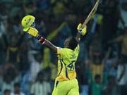 Bravo shines for Chennai vs Cobras