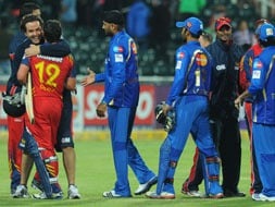 Photo : CLT20: Mumbai Indians vs Highveld Lions