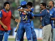 CLT20: Mumbai Indians win off last ball