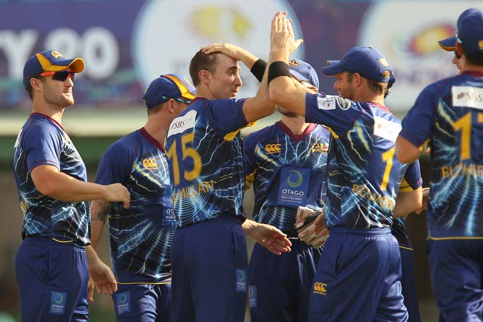 James McMillan got rid of Faisalabad Wolves openers early to put Otago Volts on top from the beginning.