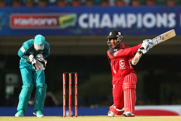 Man of the Match Denesh Ramdin was the best batsman for Trinidad & Tobago as he scored 48 to take his team to a fighting total.