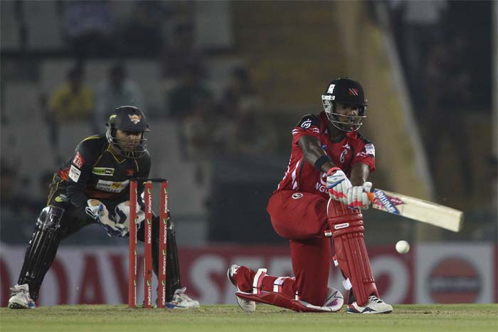 But Darren Bravo had other plans as he hammered 66 off 44 balls to take Trinidad & Tobago to fighting total.
