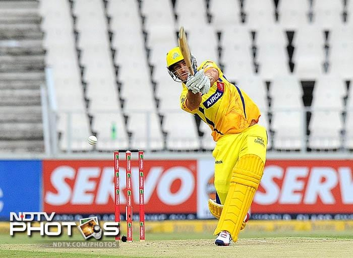 Faf du Plessis was particularly punishing as he stormed to 52 off 33 balls. He hit six boundaries and a six.