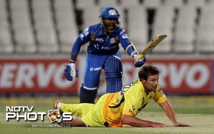 While his Aussie counterpart in MI, Mitchell Johnson was literally taken to task by MS Dhoni & Co., Ben Hilfenhaus proved decisive in CSK's win as he took 2 wickets for just 14 runs.