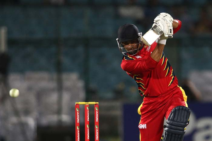 Alviro Petersen played a captain's knock and remained unbeaten to help Highveld Lions put on board a fighting total.