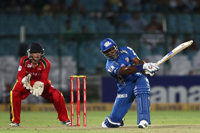 But Dwayne Smith had other plans. He scored 63 not out to help Mumbai Indians win by 7 wickets. Kieron Pollard also chipped in with a fiery 31 not out. Rohit Sharma scored 20.