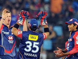 Photo : CLT20: Delhi Daredevils romp home against Kolkata Knight Riders
