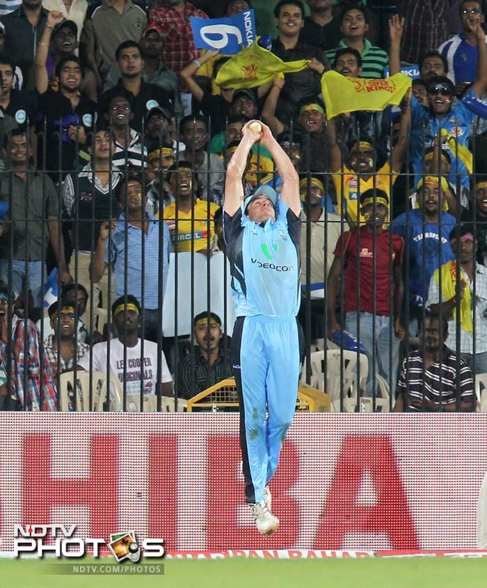 It was a battle amongst equals as the South African club took on the club from Australia. The match though ended in Cobras' favour. A look at the best moments from the 2nd match of CLT20. (AFP images)