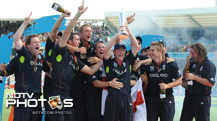 <b>England</b> are the reigning champions of the ICC World T20 tournament. In fact that was the team's first ever World Cup trophy across both the formats that the event is played in. Just like Pakistan in 2009, England too suffered a first match setback against West Indies, albeit a rain-curtailed unlucky one. The 'Barmy Army' beat the Kangaroos in a lopsided final at Bridgetown, Barbados by 7 wickets. With a strong bowling line-up, a lot is expected from the side this time too.