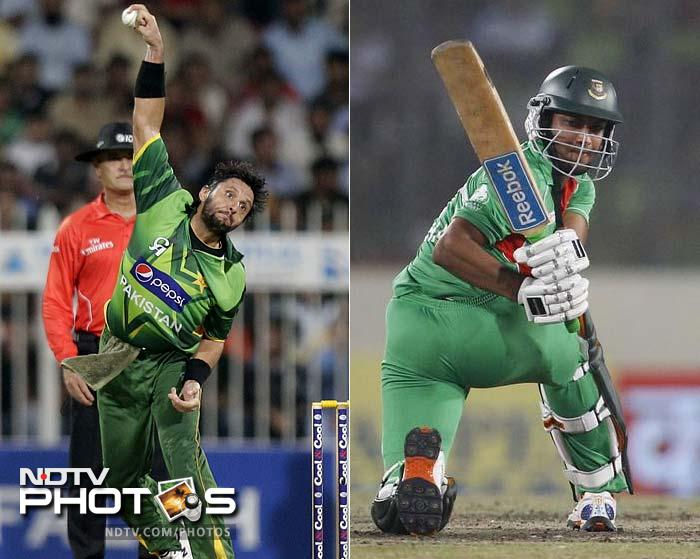 The pain of missing out on lifting the Asia Cup by a whisker will still loom large on Bangladesh as they take on Pakistan in Group D. And the fate of the match will depend a lot on how their two world-class all-rounders — Shakib Al-Hasan and Shahid Afridi — perform on the day.