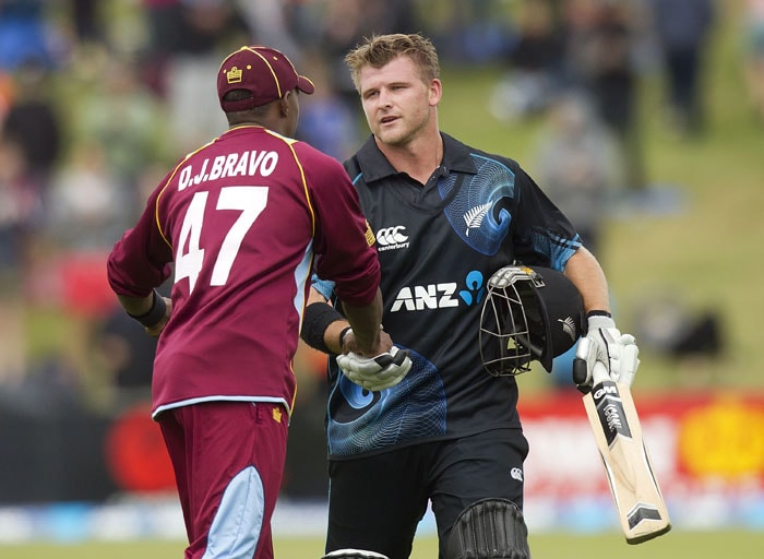 The first day of 2014 had Corey Anderson written all over it, a sentiment that even the opposition skipper Dwayne Bravo will share.