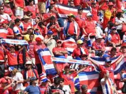 Photo : Costa Rica Stages World Cup Upset, Beat Italy 1-0