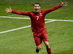 Ronaldo pips Zlatan in battle of the superstars