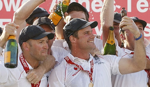 England started 2009 by losing both their captain and their coach yet ended it having triumphed in an Ashes series which proved cricket still had nothing to rival Test matches for sheer drama.<br><br>Ricky Ponting's men were ahead on almost every individual statistic yet it was England who won 2-1 after clinging onto a draw in the Cardiff opener where the Australia captain made a majestic 150.<br><br>The series was a triumph for England captain Andrew Strauss, parachuted into a leadership role after a falling out between former captain Kevin Pietersen and coach Peter Moores cost both men their jobs.<br><br>Injury meant Pietersen played little part in a series where Andrew Flintoff bowed out from the five-day game, because of fitness problems, in style.<br><br>Superb fast bowling from the all-rounder saw England beat Australia in a Lord's Test for the first time in 75 years.<br><br>Ever the show-stopper, Flintoff ran out dangerman Ponting in the series finale at the Oval as England secured the Ashes with the aid of a debut century from Jonathan Trott.<br><br>But Trott, like Pietersen, learnt cricket in his native South Africa and it wasn't just Australians who asked why he was playing for England.