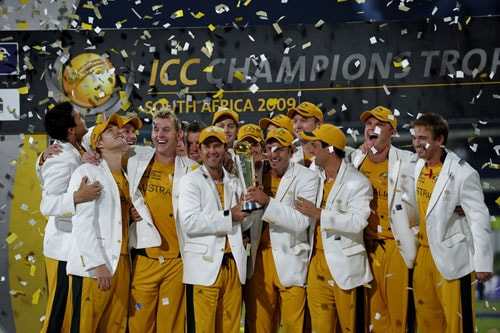 There was something similarly to the point in another non-stop year of international cricket about the Champions Trophy in South Africa where Australia defeated New Zealand in the final.<br><br><b>NEW ZEALAND: </b> <br><br>New Zealand's Daniel Vettori appeared to be carrying his country's fortunes on his suspect shoulder be it as captain, leading spinner, match-saving batsman and selector.<br><br><b>SOUTH AFRICA: </b> <br><br>South Africa, as much through a lack of matches as anything, were unable to build on their Test progress and a major one-day trophy again remained elusive.<br><br>But in 2009 fast bowler Makhaya Ntini become the first black African to play in 100 Tests - a significant social as well as sporting event in post-apartheid South Africa.<br><br><b>WEST INDIES: </b> <br><br>West Indies, plagued by player-board rows, started to emerge from their administrative chaos with a home series win over England.<br><br>Despite everything, captain Chris Gayle played some scintillating innings and although a return to the glory days of the 1980s was still far in the distance, the way the West Indies finished their recent series in Australia suggested better days ahead.