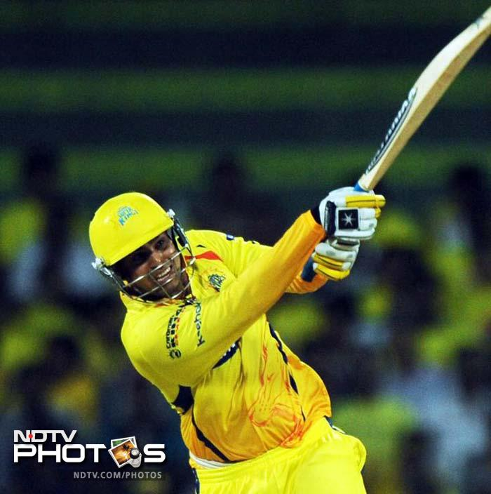 <b> 57 </b>No of century partnerships, of which Chennai Super Kings have 11, 8 each for Rajasthan Royals and Kings XI Punjab, 7 each for Delhi Daredevils, Kolkata Knight Riders and Mumbai Indians, 4 each for Royal Challengers Bangalore and Deccan Chargers, one for Kochi Tuskers Kerala and none for Pune Warriors India.